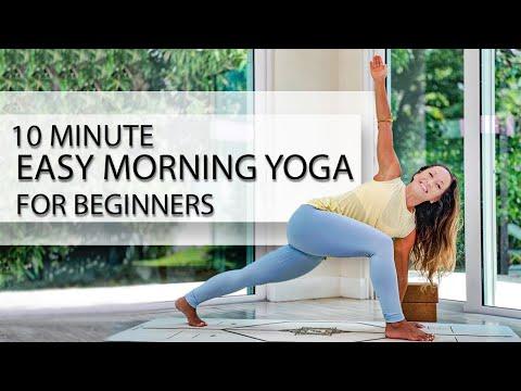 10 minute easy morning yoga for beginners  full body